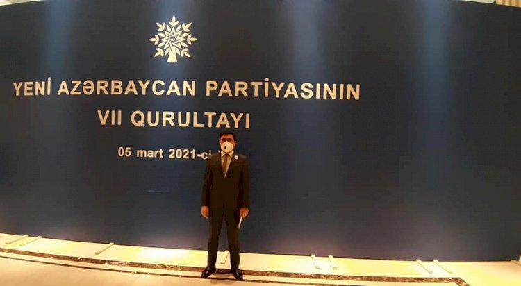 Yeni Azərbaycan Partiyasının növbədənkənar VII qurultayı keçirilib